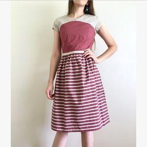 DownEast Striped Dress